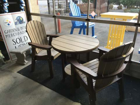 Exceptionnel Table And Chair Set U2014 Garden And Outdoor Furniture In Morgantown, WN