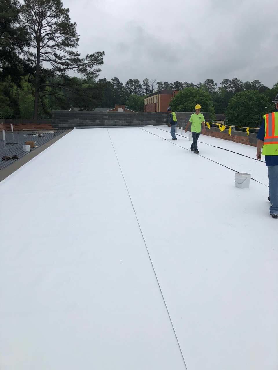 Roofing Contractors Hampton Va Commercial Roofing Inc