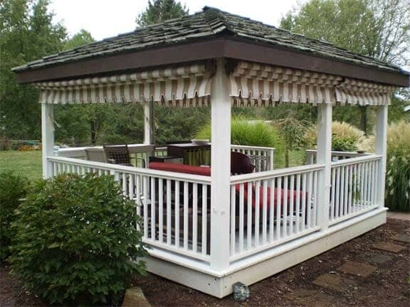 Pittsburgh Awning Company Mt Lebanon Awning Drop Curtains