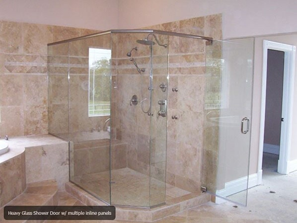 Standard Heavy Glass Showers Oakland Md Mountain Top Glass