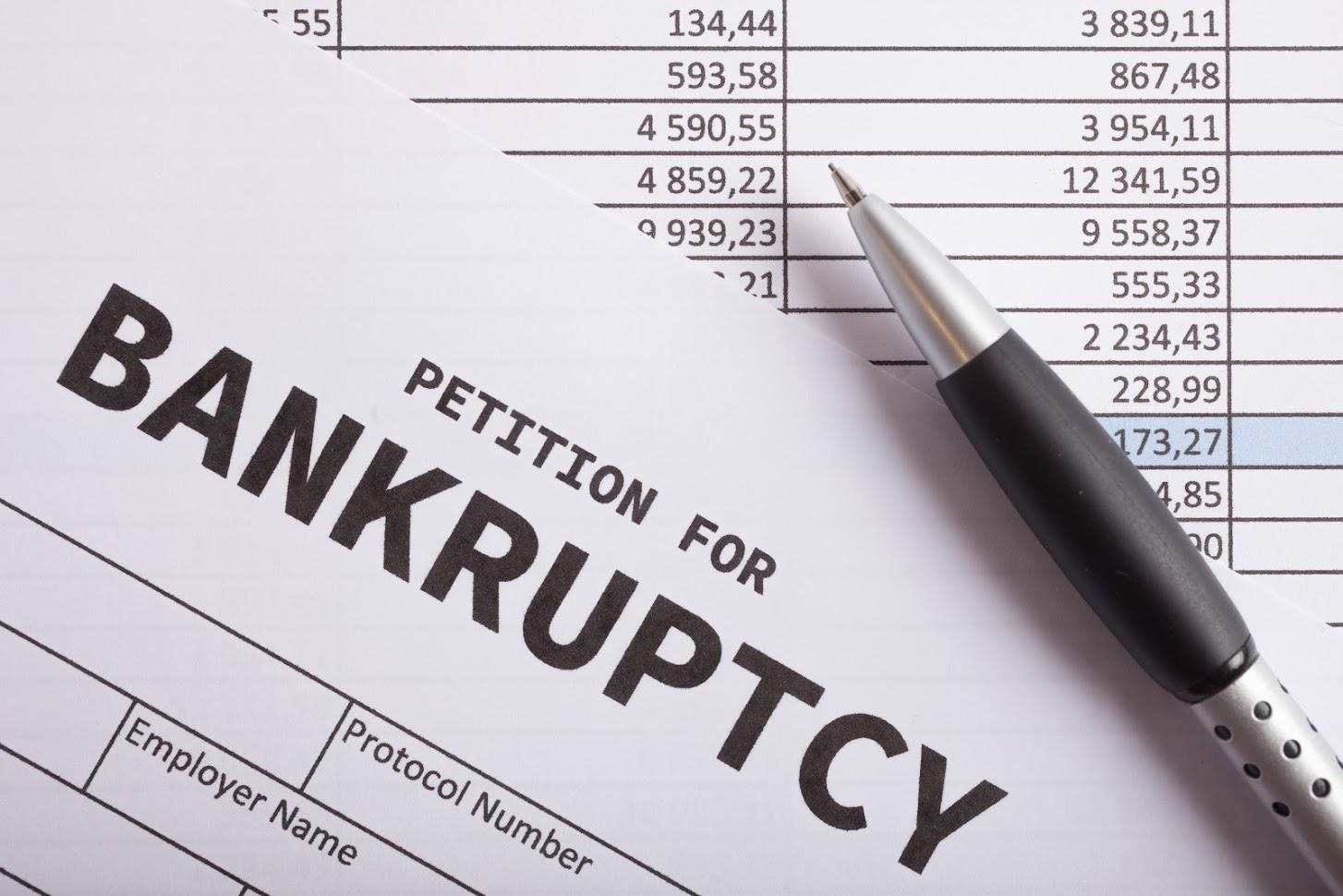 Bankruptcy Lawyer — Bankruptcy Petition Paper in Livonia, MI