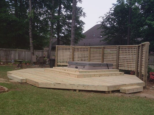 Deck Design And Repair Jackson Metro Area Chase Fence