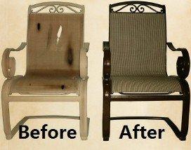 Re Sling Repair Chairs Las Vegas Nv Us Patio
