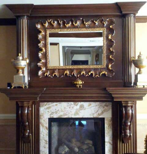 Fireplace Woodworking Project 1 At TDS Woodcraft, Staten Island, ...