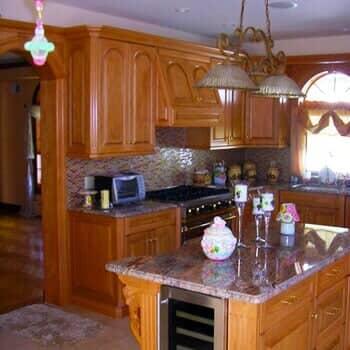 Custom Wooden Kitchen Cabinets At TDS Woodcraft, Staten Island, New York
